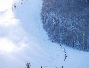 稚内市こまどりスキー場は傾斜が緩やかなので初めてでも安心